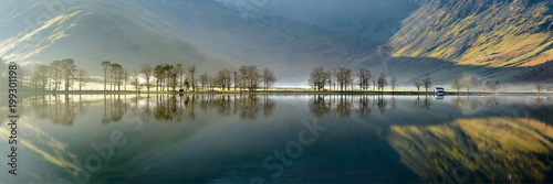 Αφίσα Buttermere trees pano