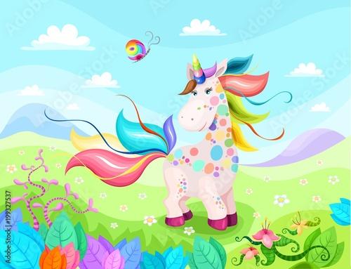 unicorn magic illustration