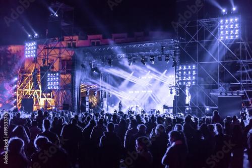 Scène de concert