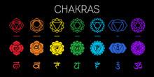 Chakras Set: Muladhara, Swadhi...