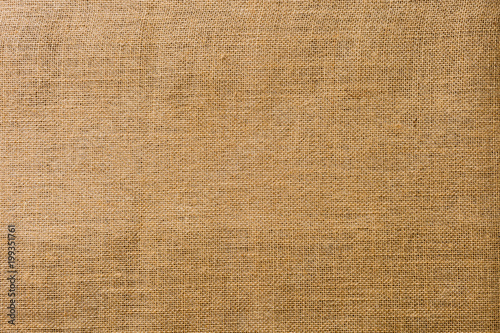 Burlap fabric texture background/empty canvas
