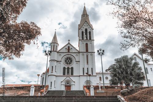 Church igreja da Gloria in Brazil, state Minas Gerais, in a small town Juiz de Canvas Print