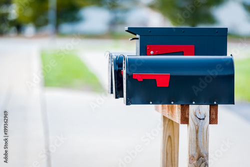 Cuadros en Lienzo Mail box in the united states