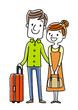 夫婦、カップル、恋人:旅行