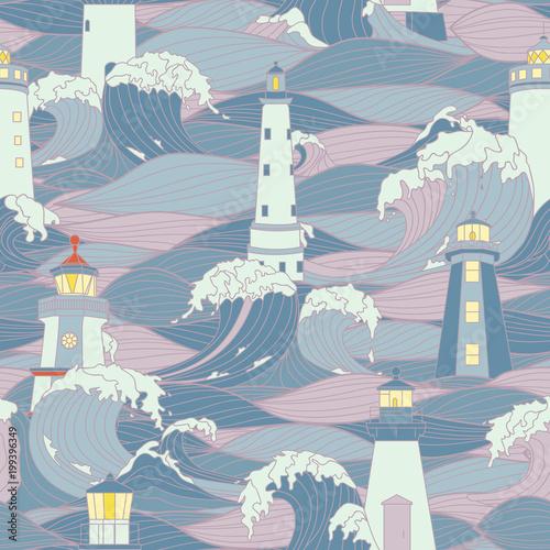 latarnia-morska-wsrod-fal-sztormowych-graficzny-wektor-wzor-projekt-strony-do-kolorowania-dla-doroslych-i-dzieci