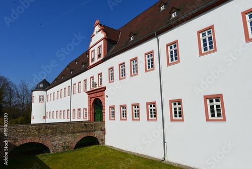 Vorderes Schloss in Heusenstamm / Landkreis Offenbach Canvas Print