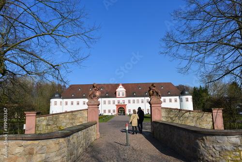 Vorderes Schloss in Heusenstamm / Landkreis Offenbach Poster