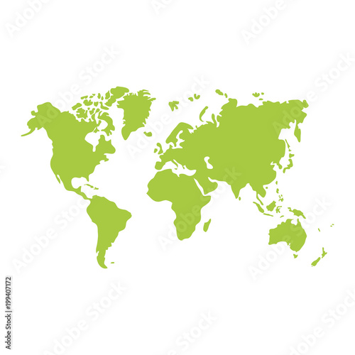 global geography map with continents world - Buy this stock vector ...