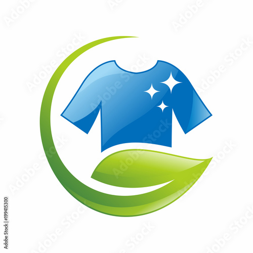natural laundry logo vector template business logo design concept buy this stock vector and explore similar vectors at adobe stock adobe stock natural laundry logo vector template