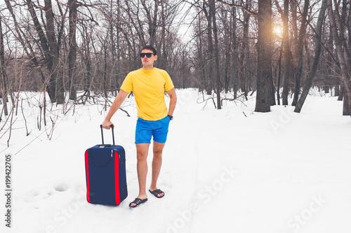 Fotografía  Travelling from winter to summer