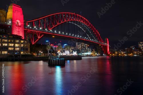 City on the water Harbour Bridge, Sydney