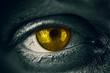 Golden Abstract Eye