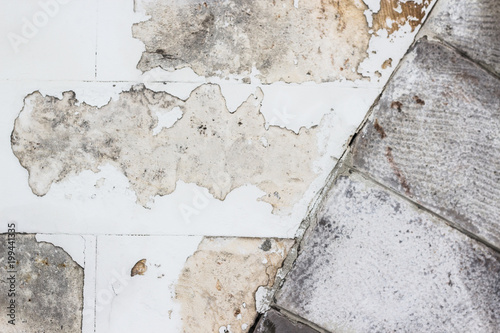 Fototapeten Künstlich Белая текстура стены, камень