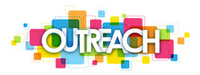 OUTREACH Colourful Letters Icon