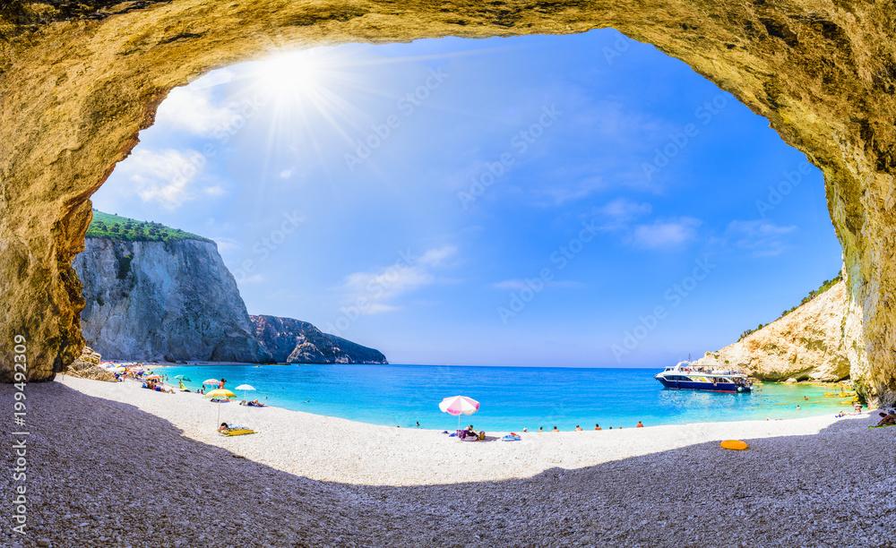 Fototapety, obrazy: Porto Katsiki beach, Lefkada island, Greece.