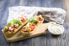 Mini Pizza And Casseroles