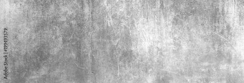 Poster Betonbehang Textur einer zerkratzten, alten Betonwand als Hintergrund