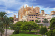 La Seu Cathedral, Palma de Mallorca, Mallorca (Majorca), Balearic Islands, Spain