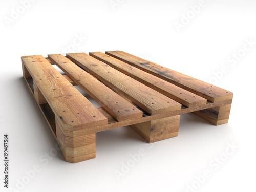 Obraz na płótnie Wooden pallet