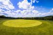 canvas print picture - Golfplatz