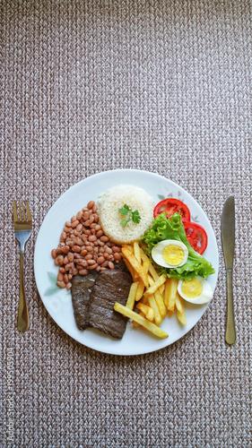 Deurstickers Klaar gerecht Typical Brazilian food