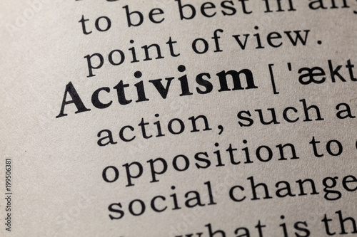 definition of activism Wallpaper Mural