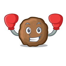 Boxing Meatball Character Cart...