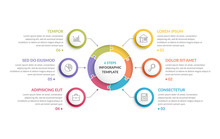 Circle Infographics - Six Elem...