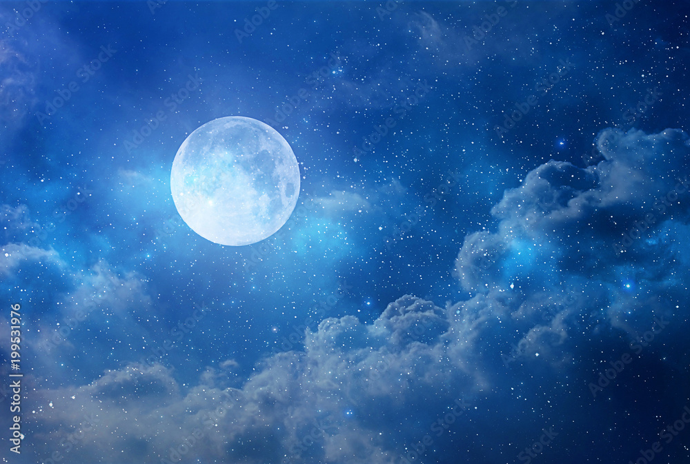 Fototapety, obrazy: view of the moon
