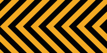 Background Yellow Black Stripes, Industrial Sign Safety Stripe Warning, Vector Background Warn Caution Construction