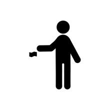 Littering Flat Icon