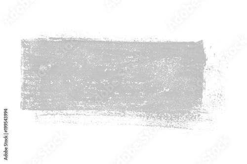 Isolierter grauer unordentlicher Farbabdruck © kebox