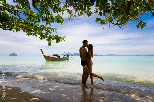 Fotografia Couple on honeymoon Koh Kradan