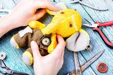 Handmade Toy Elephant