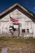 American Flag - Abandoned Gene...