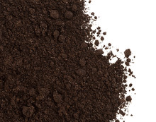 Soil Or Dirt Crop Isolated On ...