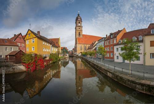 Amberg, Germany Canvas Print