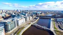 Aerial Image Of Glasgow Citysc...