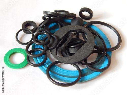 Fotografía  Rubber rings