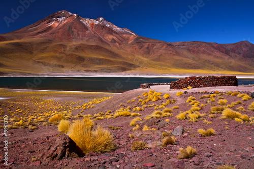 Foto op Plexiglas Landschappen Miñiques Volcano
