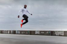 Athlete Mid Air