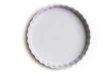 Empty Ceramic Tart Or Pie Dish...