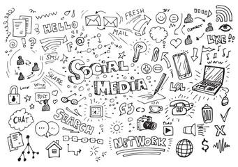 Nacrtani crteži na društvenim mrežama