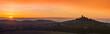 Gleiberger Land im Sonnenaufgang