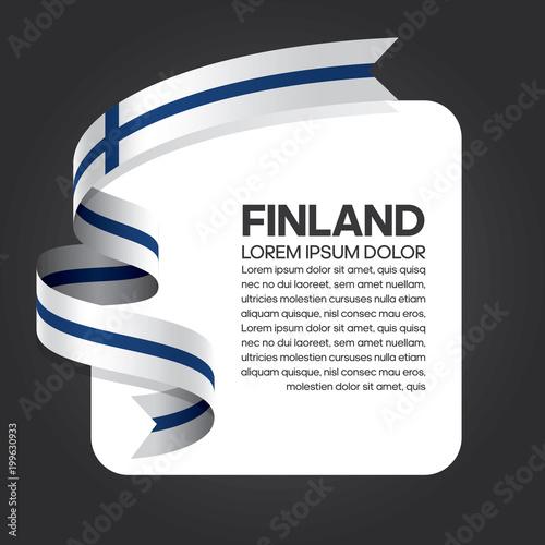 Fotografie, Obraz  Finland flag background