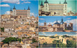 Photo collage from Toledo Spain.