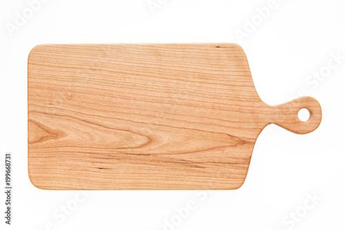 Photographie Cherry wood cutting board, handmade wood cutting board