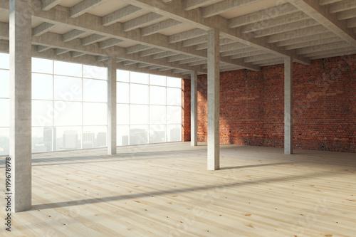 Space Modern wooden interior