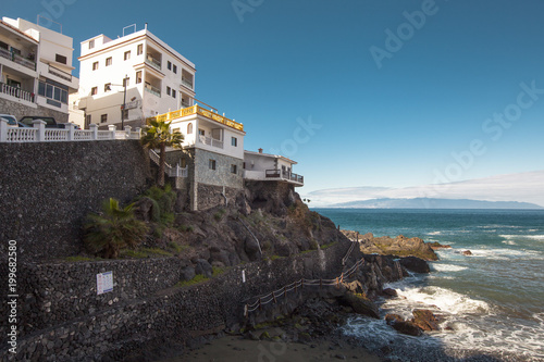 Tuinposter Canarische Eilanden Los Roques the rocks La-Gomera, Canary Islands, Spain