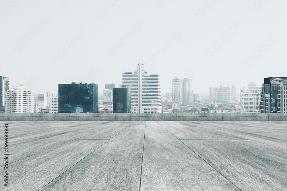 Fototapety, obrazy: Dull city backdrop